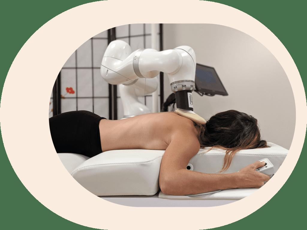 robot massage entreprise
